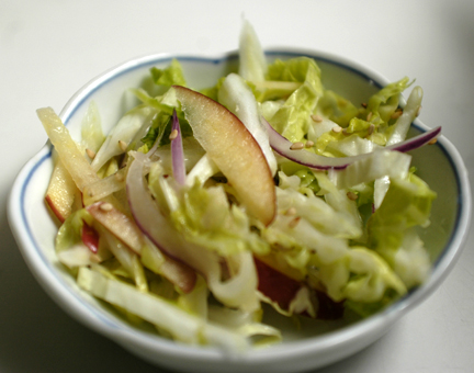 Summer Salads: Asian Slaw with Fuji Apple and French Potato Salad ...
