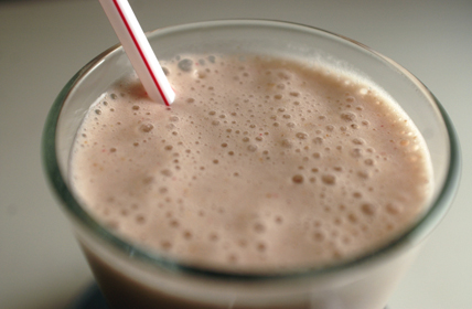 Strawberry Banana High Fiber Smoothie