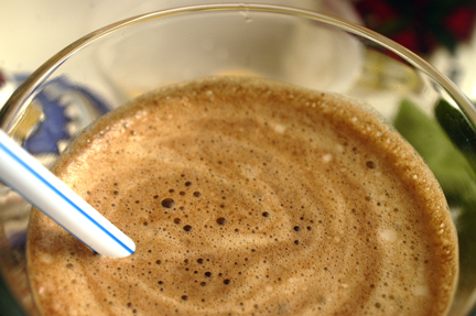 Chocolate Banana Smoothie with Secret Ingredient