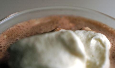 white russian malt up close