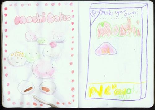 Mochi Cakes