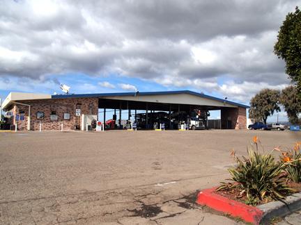 Truck Stop in Santa Maria