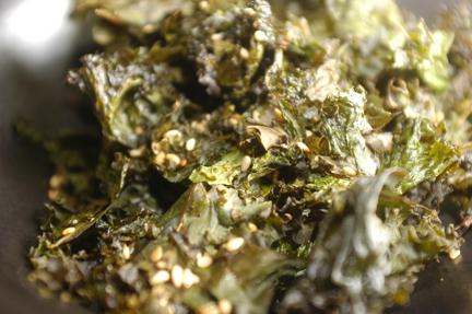 Sesame Kale