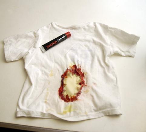 beginning of shirt