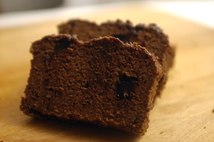 chocolate plantain bread 2