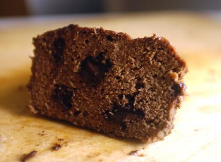 Double Chocolate Plantain Bread
