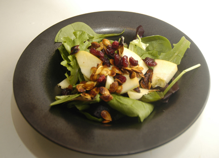roasted seeds salad