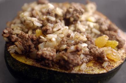 stuffed acorn squash 1
