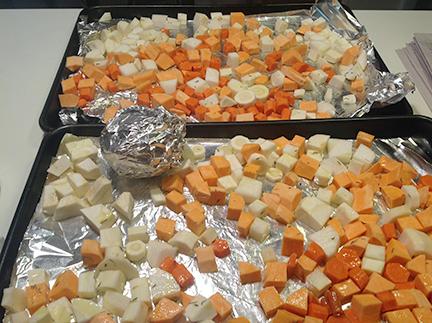 root vegetables to roast