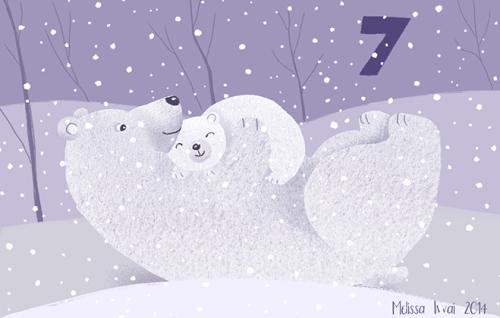 7 polar bear