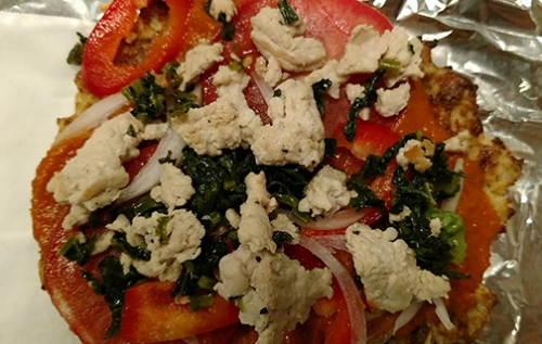 veggie pizza PIzza Day by Melissa Iwai 2017